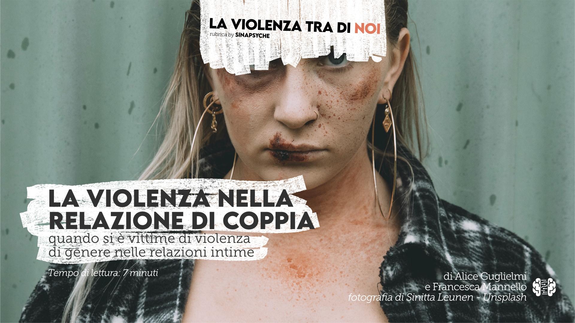 violenza nelle relazioni